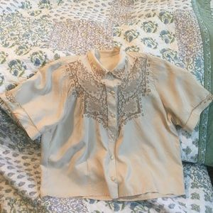 Coming soon! Gorgeous 1940s Blouse